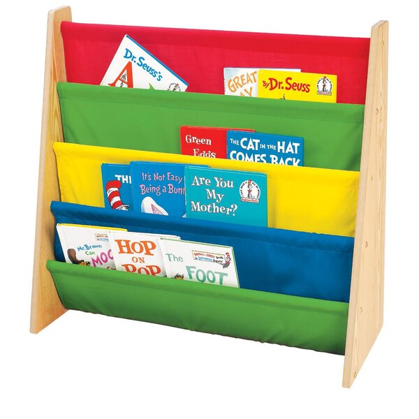 Portable 4 Compartment Book Display by Tot Tutors