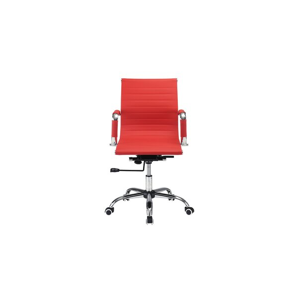 Minoris Modern Ribbed Office Chair by Wrought Studio