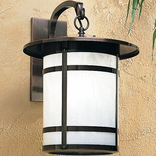 Affordable Berkeley 1-Light Outdoor Wall Lantern By Arroyo Craftsman