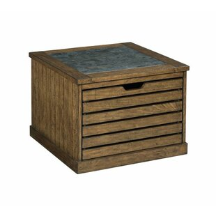 Kaplan Coffee Table with Storage Union Rustic