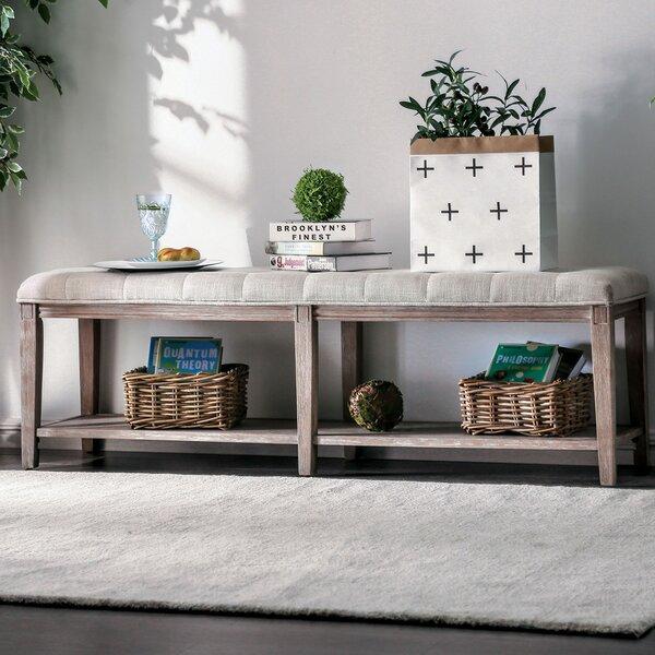 Varela Upholstered Storage Bench by Gracie Oaks
