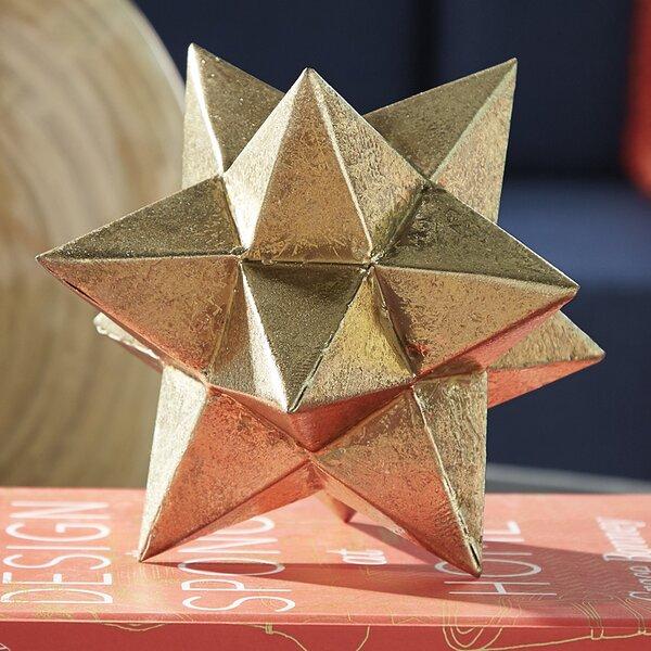 Brilliant Metallic Star Sculpture by Mercury Row