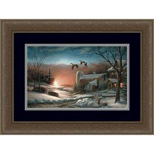 Sharing Season II by Terry Redlin Framed Painting Print by Hadley House Co