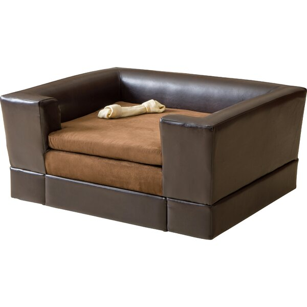 Deon Rectangle Cushy Dog Sofa by Archie & Oscar