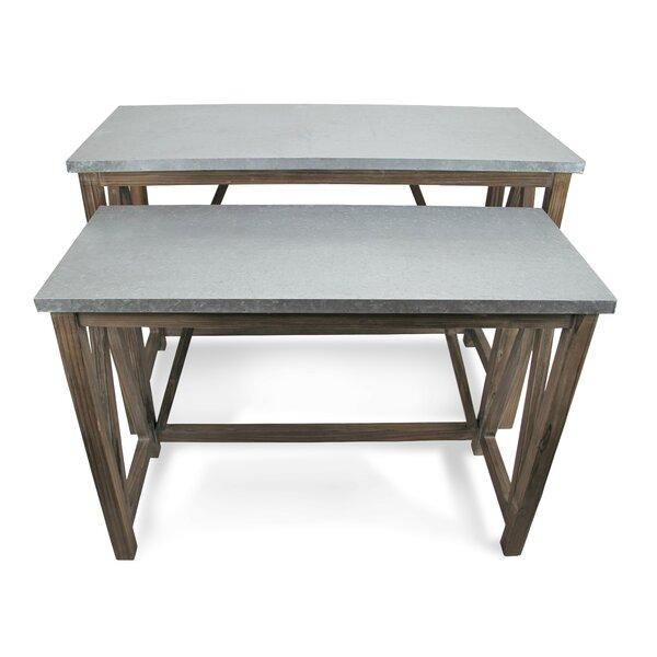 Monzon 2 Piece Console Table Set By Gracie Oaks