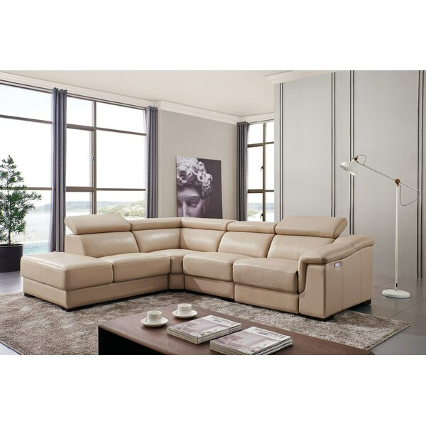 Klutsch Reclining Sectional by Orren Ellis