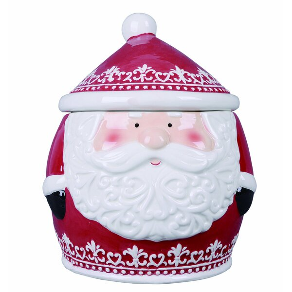 Walter Nordic Santa Cookie Jar by The Holiday Aisle