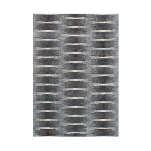Heyburn Hand-Tufted Grey Area Rug by The Conestoga Trading Co.