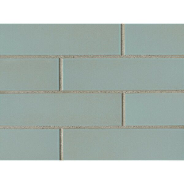 Reverie 2.5 x 9 Porcelain Subway Tile in Green by Grayson Martin
