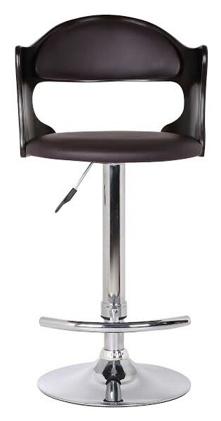 Bobbie Adjustable Height Swivel Bar Stool by Ebern Designs Ebern Designs