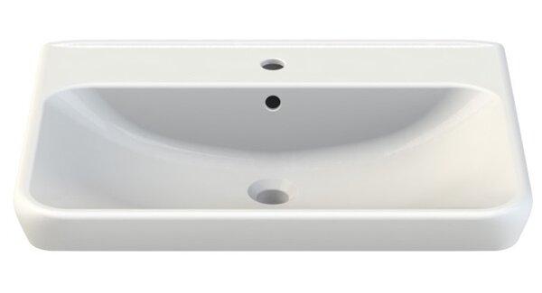Belo Ceramic Rectangular Drop-In Bathroom Sink with Overflow by CeraStyle by Nameeks