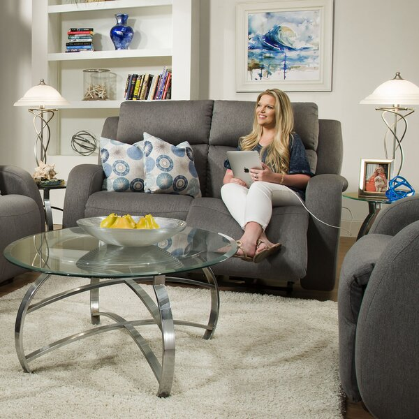 Grand Slam Reclining Loveseat by Southern Motion