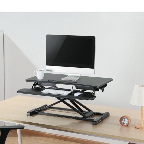 Kanode Height Adjustable Standing Desk Converter by Symple Stuff