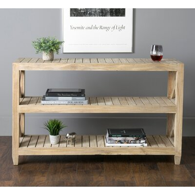 Farmhouse Amp Rustic Solid Wood Console Tables Birch Lane