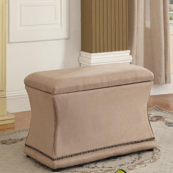 Porter Upholstered Storage Bench by House of Hampton