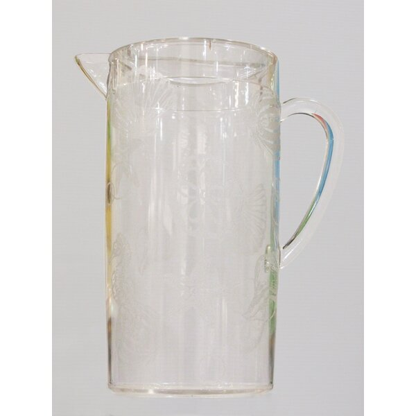 Oceanic Acrylic Pitcher by LeadingWare Group, Inc