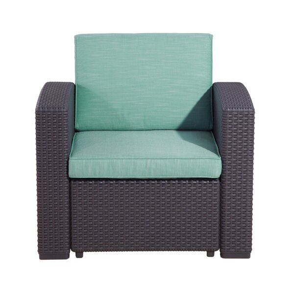 Blanchard Patio Chair with Cushions by Highland Dunes Highland Dunes