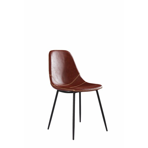 Dracut Modern Upholstered Dining Chair (Set of 2) by Wrought Studio
