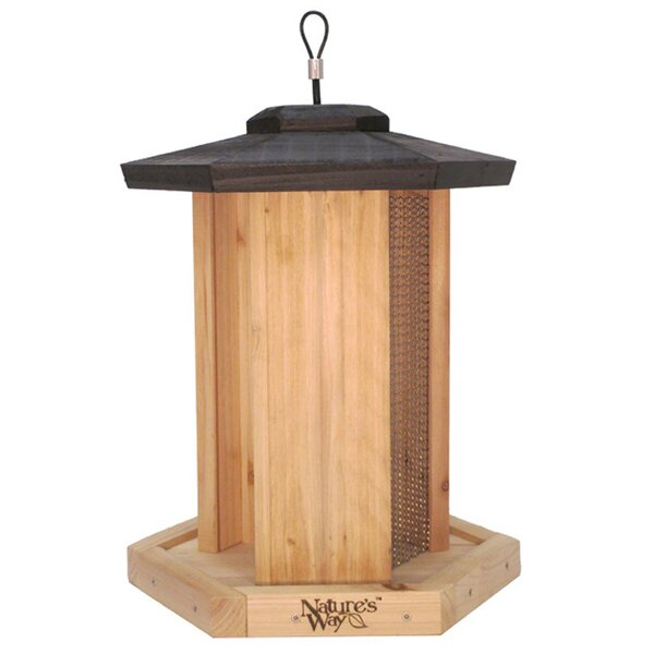 Triple Chamber Wild Hopper Bird Feeder by Nature's