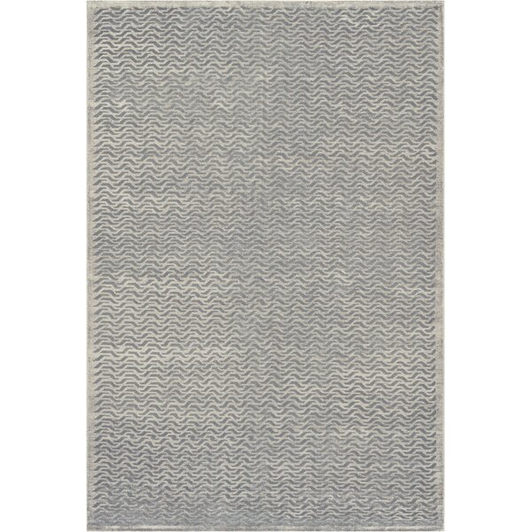 One-of-a-Kind High Quality Hand-Knotted Wool Gray Indoor Area Rug by Mansour