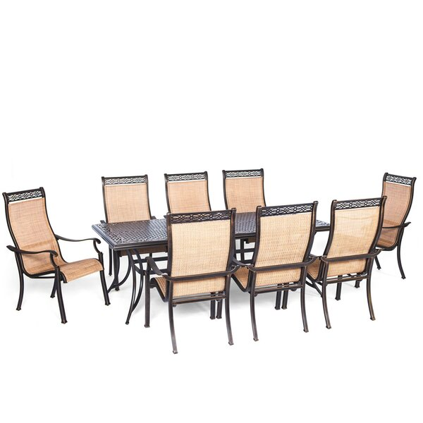 Barras 9 Piece Outdoor Dining Set by Darby Home Co