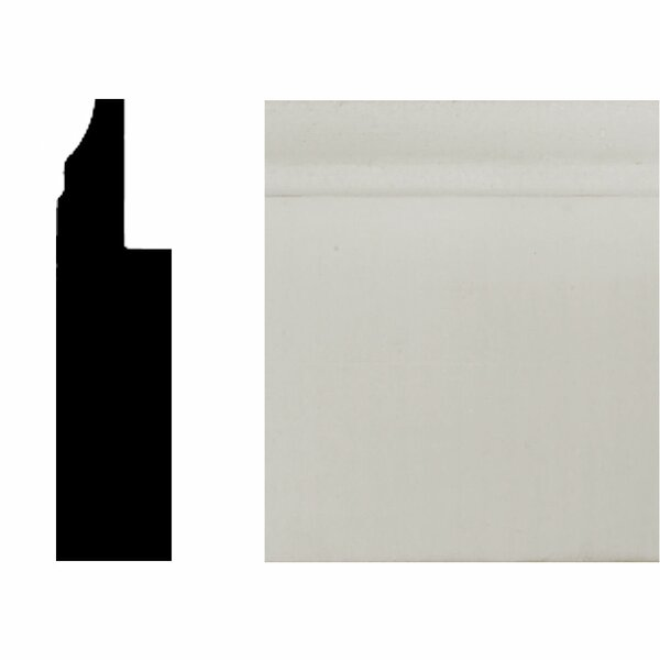 3/4 in. x 3 in. x 8 ft. MDF Wainscot Base Moulding by Manor House