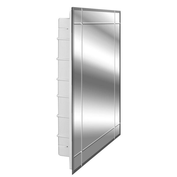 Spacecab Vega 16 x 26 Recessed Medicine Cabinet by Zaca