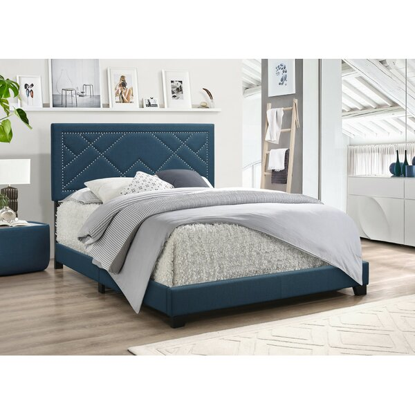 Grubb Upholstered Standard Bed by Winston Porter