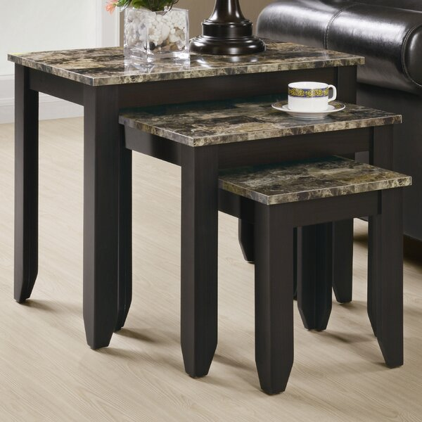 Boneta 3 Piece Nesting Tables By Charlton Home
