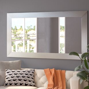 Hecuba Rectangle Full Length Wood Framed Mirror