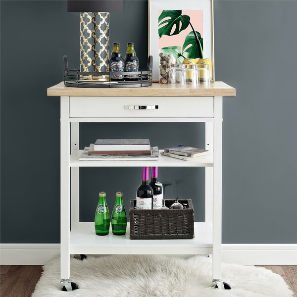 Rilla Multifunction Kitchen Cart by Ebern Designs