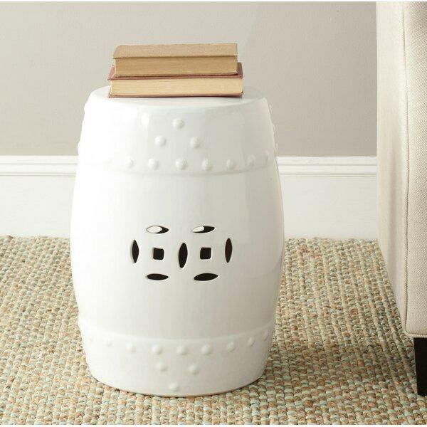 Glazed Ceramic Garden Stool by Birch Lane™