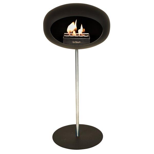 Ground Steel Bio-Ethanol Fireplace By Le Feu