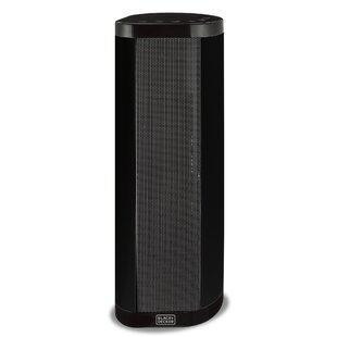1500 Watt Electric Fan Tower Heater with LED Display Control by Black + Decker