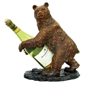 Bear 1 Bottle Tabletop Wine Rack by Sterling Industries