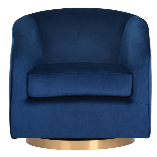 Hazel Swivel Armchair by Sunpan Modern Sunpan Modern