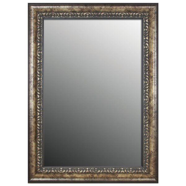 Waxman Vintage Silver Wall Mirror by Astoria Grand