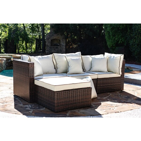 Burruss Patio Sectional With Cushions By Three Posts by Three Posts Best Design
