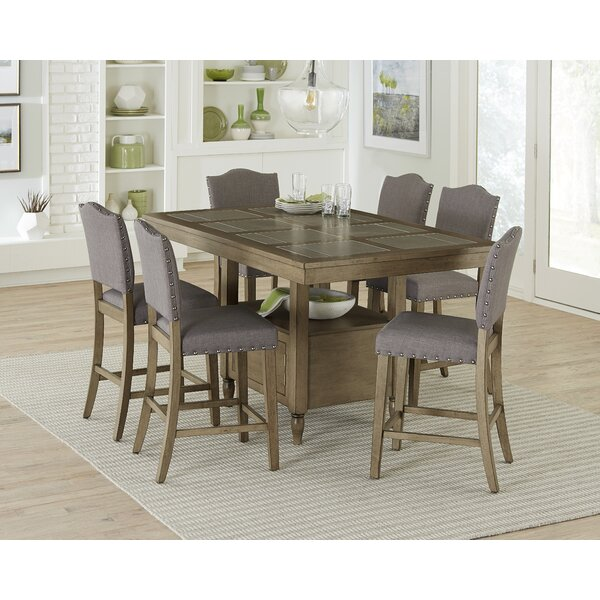 Carley 7 Piece Pub Table Set by Ophelia & Co. Ophelia & Co.