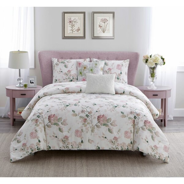 Albano 5 Piece Comforter Set by One Allium Way