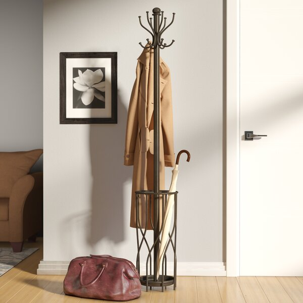 Double Hook  Metal Coat Rack by Red Barrel Studio