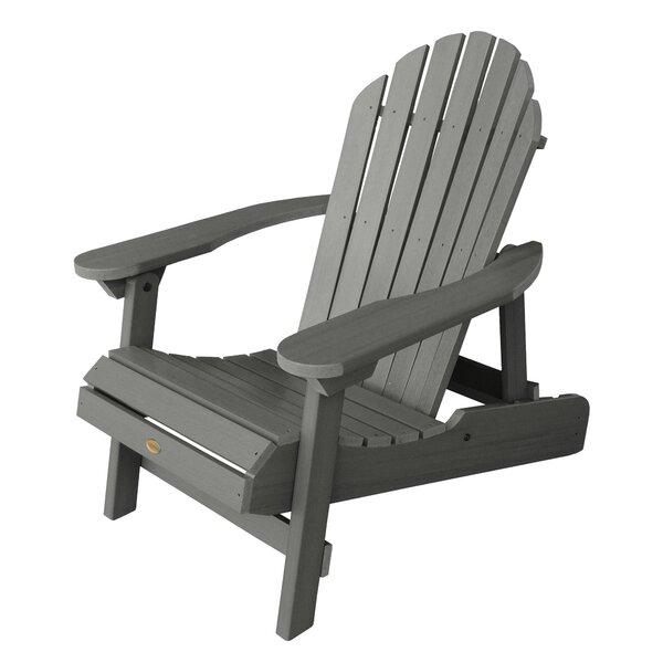 Amiya Plastic Folding Adirondack Chair by Breakwater Bay