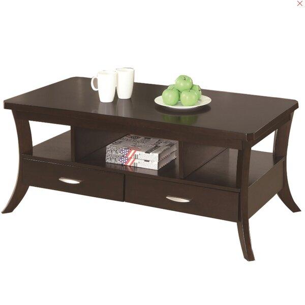 Olander Coffee Table with Storage by Red Barrel Studio Red Barrel Studio