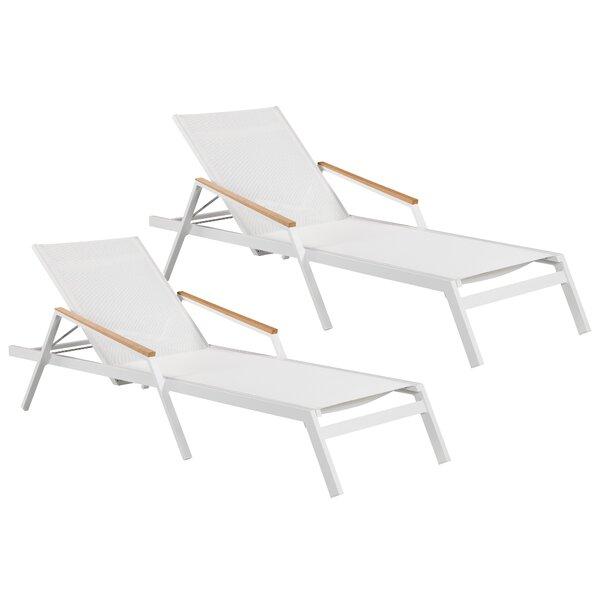 Skylar Lounger Chaise Lounge Set (Set of 2)