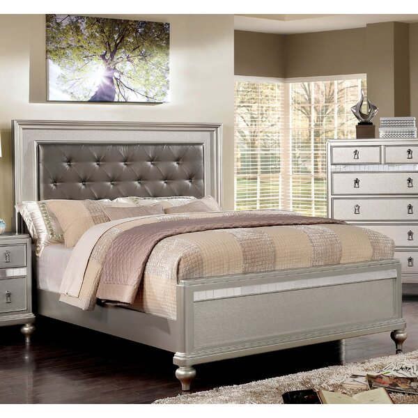 Nevada Upholstered Standard Bed by Rosdorf Park