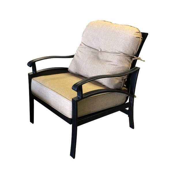 Aube Outdoor Aluminum Patio Chair by Canora Grey