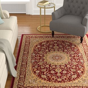 Colindale Red Area Rug by Astoria Grand