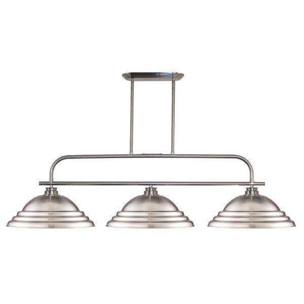 Clayton 3-Light Pool Table Lights Pendant by Laurel Foundry Modern Farmhouse