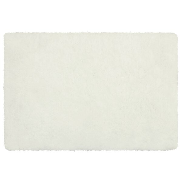 Hexham Plush White Area Rug by Mercer41