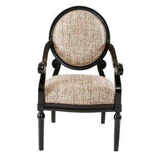 Genial Goode Exposed Wood Armchair